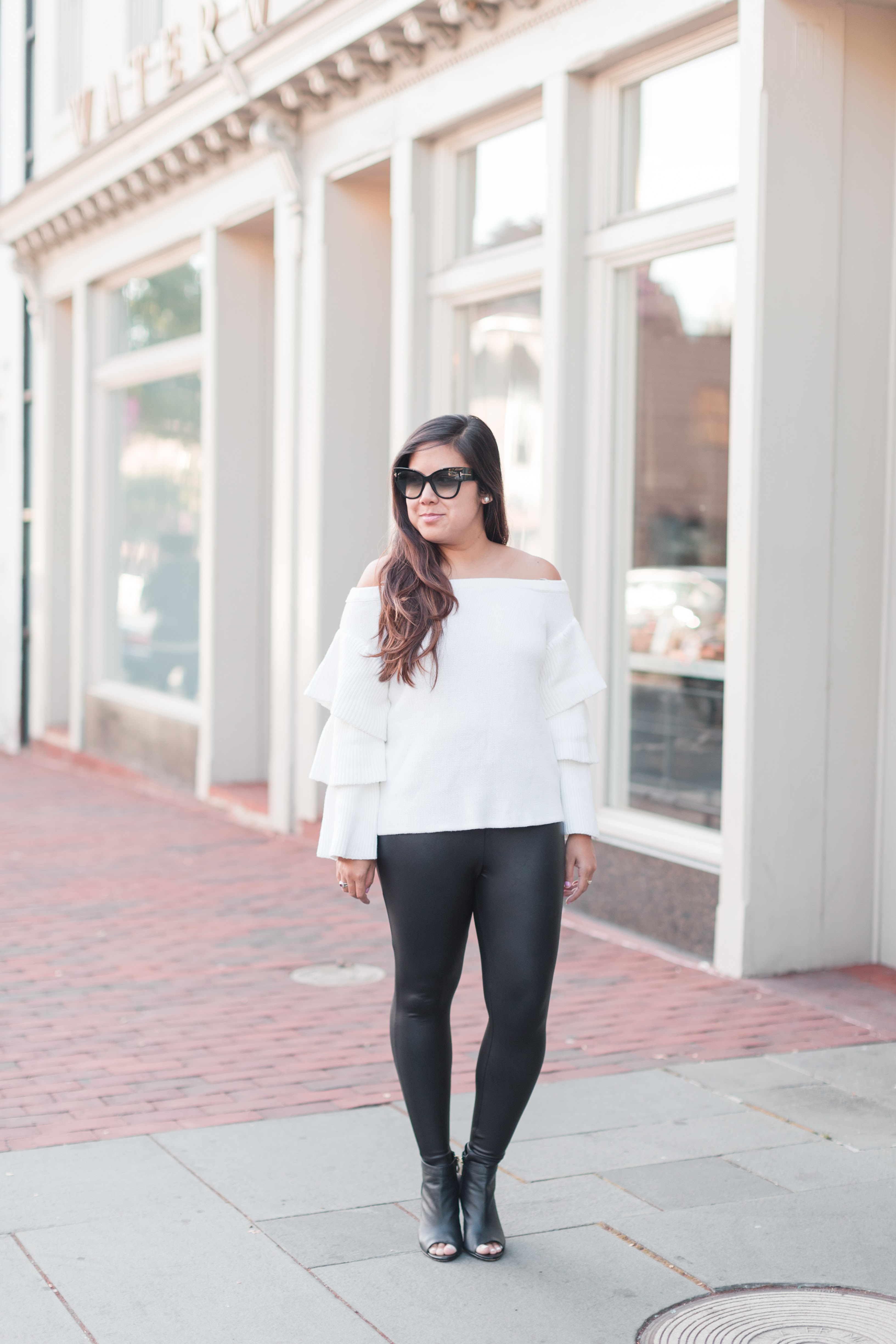 Off The Shoulder Sweater - Stylista Esquire - @stylistaesquire