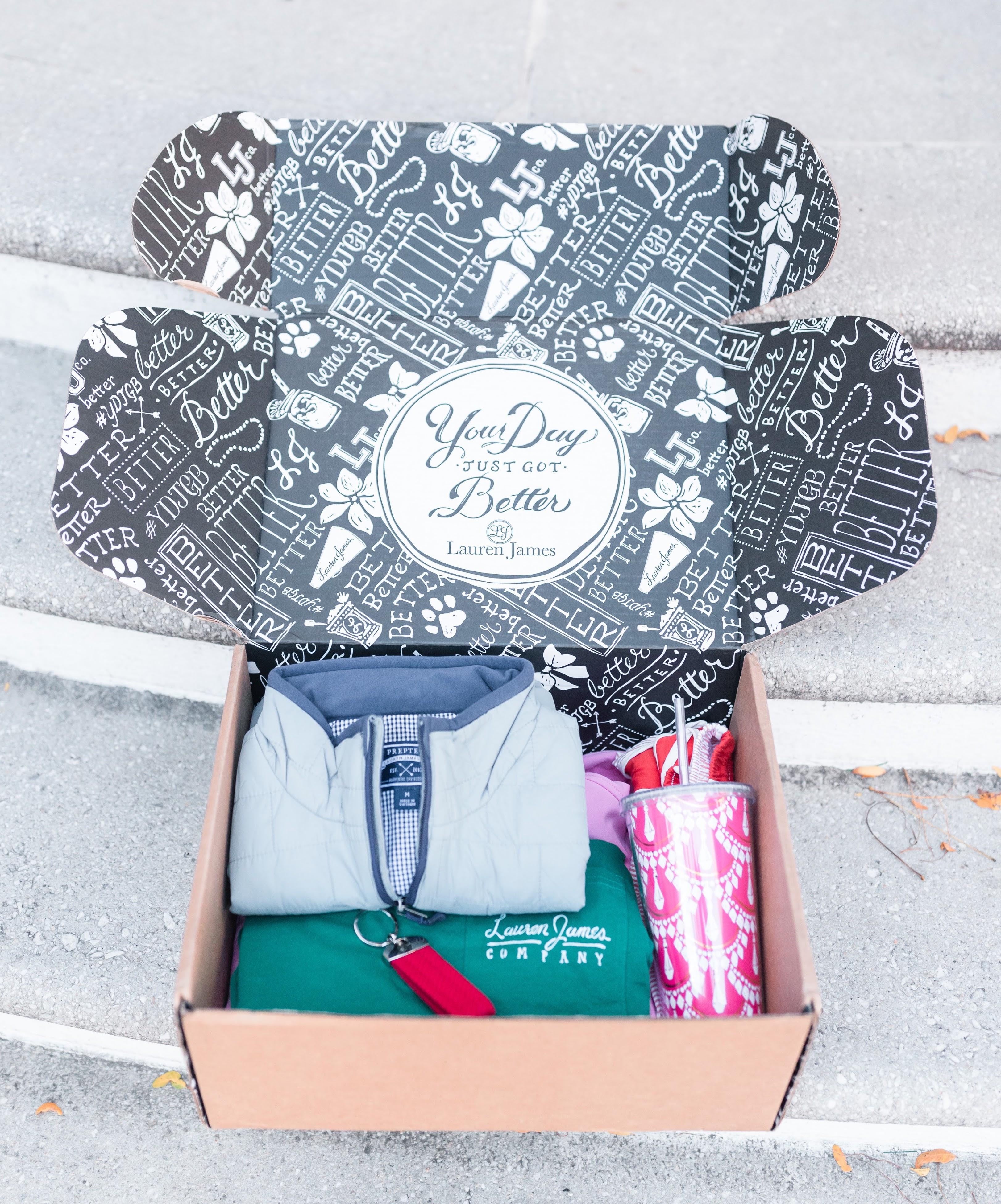 Lauren James Mystery Box - Stylista Esquire - @stylistaesquire